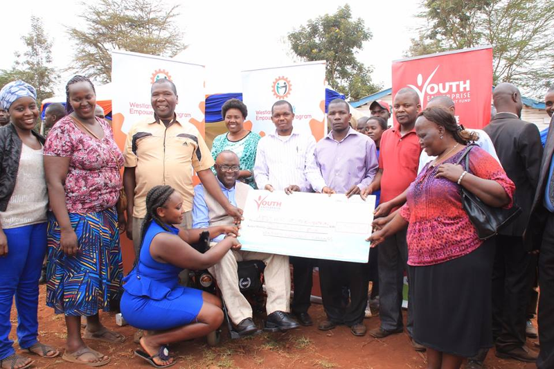 1.5 Million Disbursed to youth in Westlands Constituency